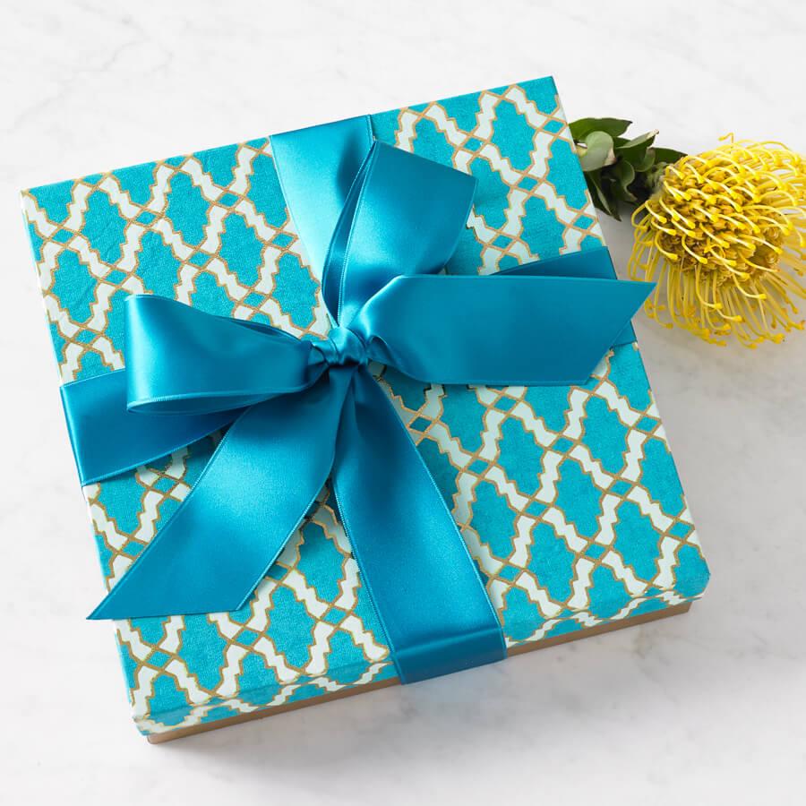 Blue Array Box